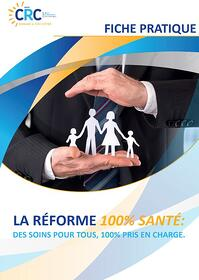 réforme 100 % sante image